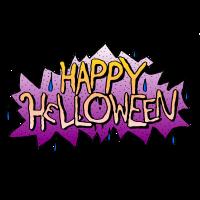 Happy Halloween Graffiti