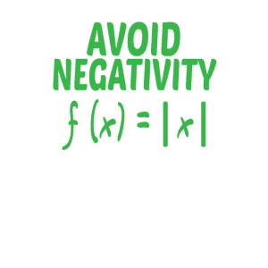 Avoid Negativity Math Equation Funny Math Shirt
