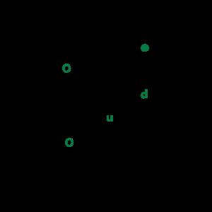 THC molekül