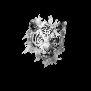 Tiger im watercolor design, Geschenk