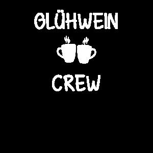 Glühwein Crew Weihnachtsmarkt Weihnachten Geschenk
