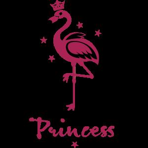 17 Flamingo Princess Crown Margarita Art