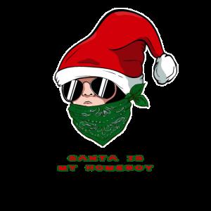 Home Boy Baby Santa - Santa Is My