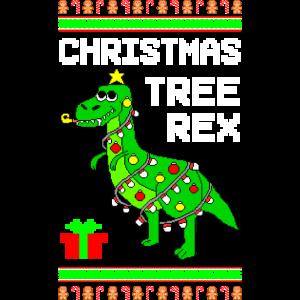 Tree Rex Ugly Christmas