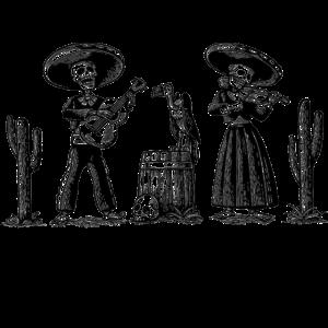 Dia De Los Muertos Band