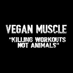 VEGAN muscle killing workout not animals