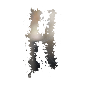 Inistialien: Buchstabe H / Grunge-Graffiti