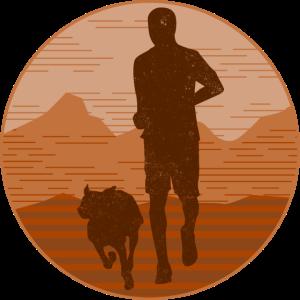 Hund Joggen Fitness Rennen Geschenk