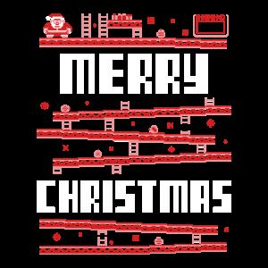 Weihnachten Retro Game Videospiel Konsole Geschenk