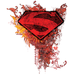 Superman S-Shield Ornate Colored
