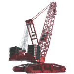 Crawler Crane 750t - Red
