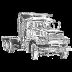 Flat Truck 3-axle
