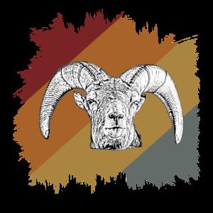 Tier Berg Horn
