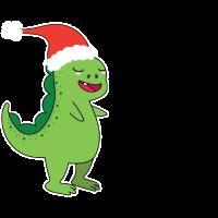 Der singende Dino - Premium Design