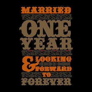 Jahrestag Hochzeit