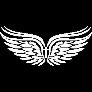 05 Guardian Angel Wings Fluegel Kreuz