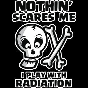 Halloween Radiologie Tech Strahlung Schädel