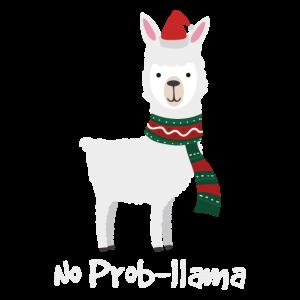 Kein Propllama-Weihnachtsbestes Geschenk für Alpaka-Liebhaber