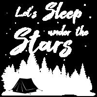 Zelten Camping Zelt Natur Outdoor Lagerfeuer Stern