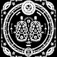 Zwillinge Gemini Sternzeichen Zwilling geschenk