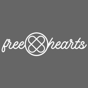 freehearts white logo