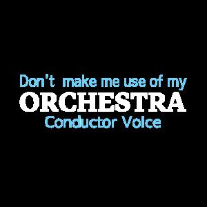Dirigent Stimme Orchester
