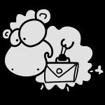 Aktentaschen Schaf
