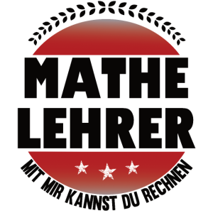 Lustiges Shirt Mathelehrer