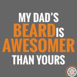 Dad's beard