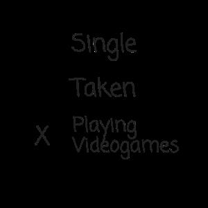 Playing Videogames Gaming Gamer Beziehung Geschenk