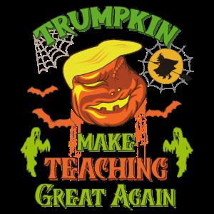 Trumpkin macht wieder großartig Unterricht Halloween