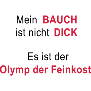 Dicker Bauch