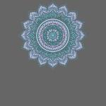 Mandala Sternblume Trendy Yogafashion