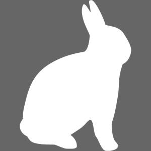 T-shirt personnalisable avec votre texte (lapin)