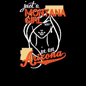 Montana Arizona Frau Mädchen