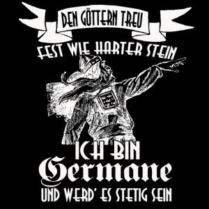 Geschenk Germane Götter Odin Treue Säbelzahntiger