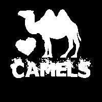 I Love Camels Alpaka Kamel Zootier Zoo