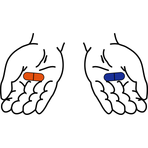 Rote Pille - Blaue Pille