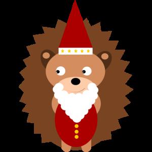 Igel Bärchen Weihnachten