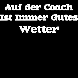 Auf der coach ist immer gutes Wetter