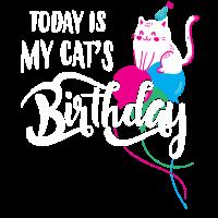 Today is my cat's birthday