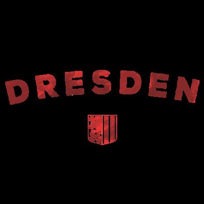 Dresden rot - Dresden - dresden wappen,Sachsen,Dresden