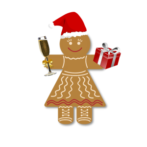Weihnachts-Lebkuchen
