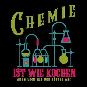 Chemie Chemiker Reaktion lustig nerds geeks Spruch