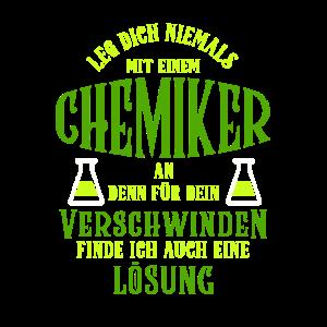 Chemie Chemiker Lösung lustig nerds geeks Spruch