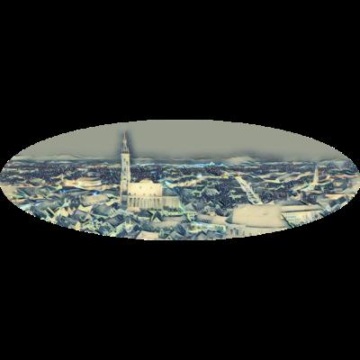 Landshut - Tolles Landshut T-Shirt - wahrzeichen,stimmung,stadt,sehenswürdigkeit,niederbayern,nachtaufnahme,nacht,lichter,landshut,kirchturm,kirche,historisch,gebäude,dunkelheit,dunkel,beleuchtung,beleuchtet,bayern,bauwerk,atmosphäre,architektur,altstadt,abendstimmung,Wave,Ellipse