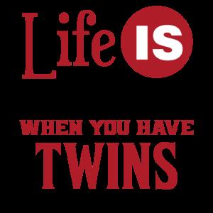 Zwillinge - Twins - cool gift - Eltern Geschenk