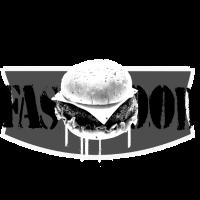 Cheeseburger in Grau
