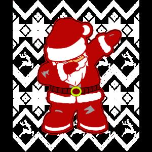 Cooler-Lustiger Weihnachtsmann Dabbing Dab Dance