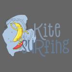 Coole Kitesurfing Banane - Kite Surfer Lovers